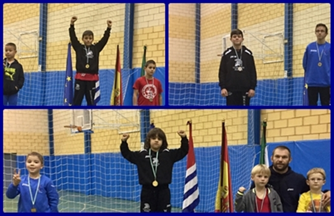 3 medallas en Cartaya