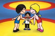 foto lucha infantil