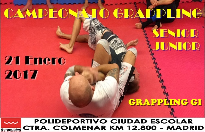 Cto Madrid Grappling 2017