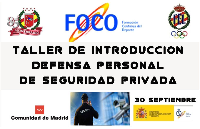 Defensa Personal de Seguridad Privada