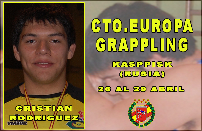 Cristina en el Europeo de Grappling