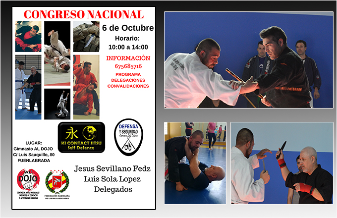 Congreso Ki Contact Jitsu y Defensa&Seguridad