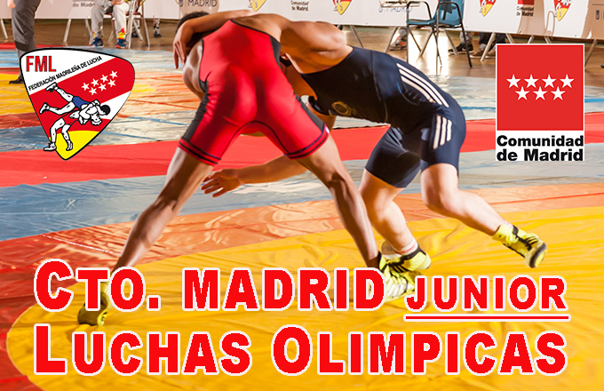 Ctos. Madrid Luchas 2020 - Junior