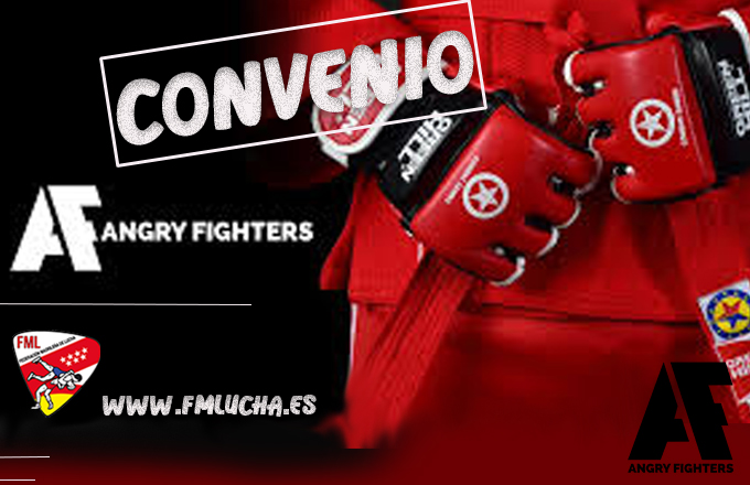 Convenio ANGRYFIGHTERS y la FML