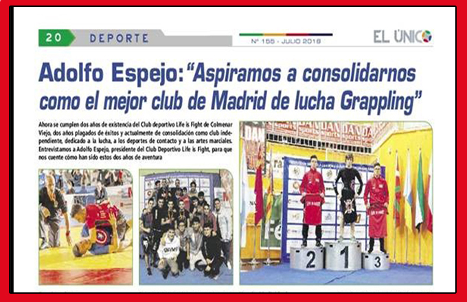 El Club Life is Fifht en la Prensa