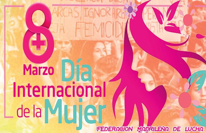 8 Marzo Día Internacional de la Mujer