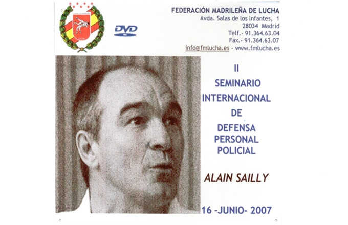 Defensa Personal Policial, Alain Sailly.